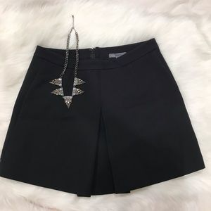 Vince Black mini skirt
